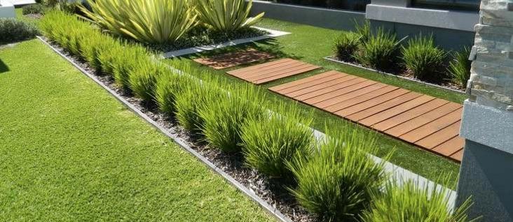 bordures de jardin acier corten FERIGAMI pas ATECH