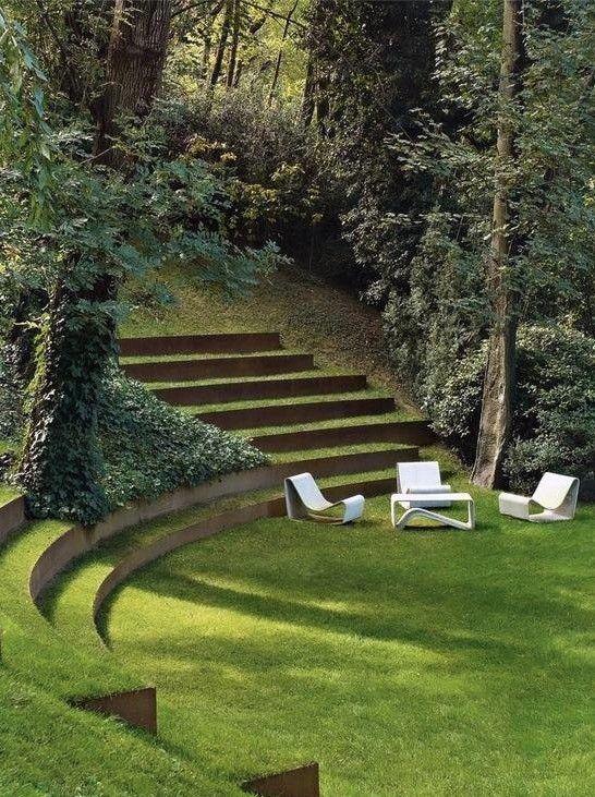 Bordure acier corten pour jardin durables et esth tiques for Bordurette acier pour jardin
