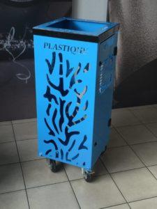 poubelle moderne
