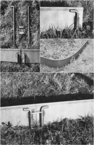 FERIGAMI assemblage bordures de jardin