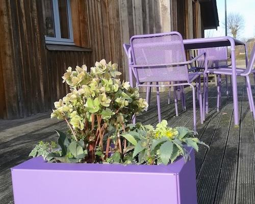 jardinieres FERIGAMI modulaires pour terrasse