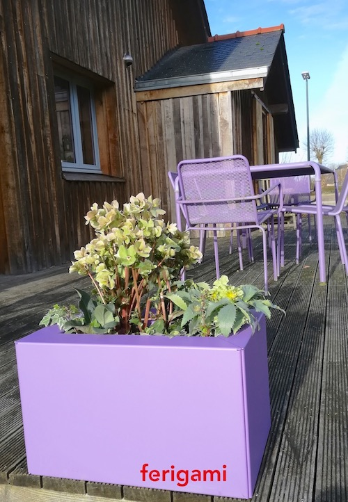 jardinieres modulaires pour terrasse FERIGAMI