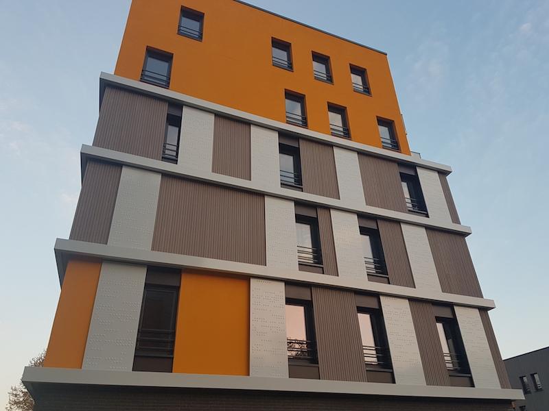 Tôles décoratives pour façades de bâtiments