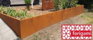 amenagement jardin corten ferigami