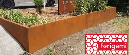 amenagement jardin corten ferigami