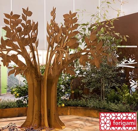 arbre acier corten ferigami