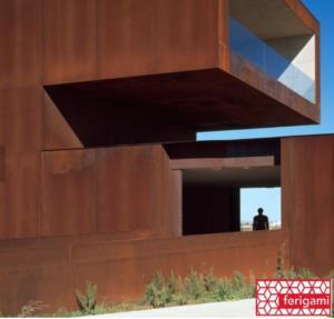 architecture corten ferigami