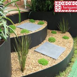 Bodure de jardin acier gamme FERIGAMI