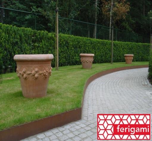 bordures et voliges jardin ferigami