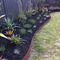 bordures jardin rouillees ferigami