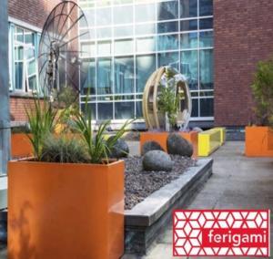 jardiniere laquee couleur ferigami
