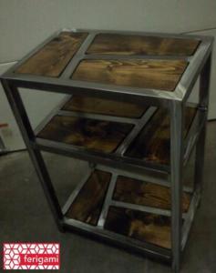 meuble industriel ferigami
