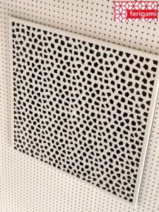 grilles plafond perforee