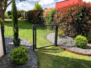 bordure jardin rouillée
