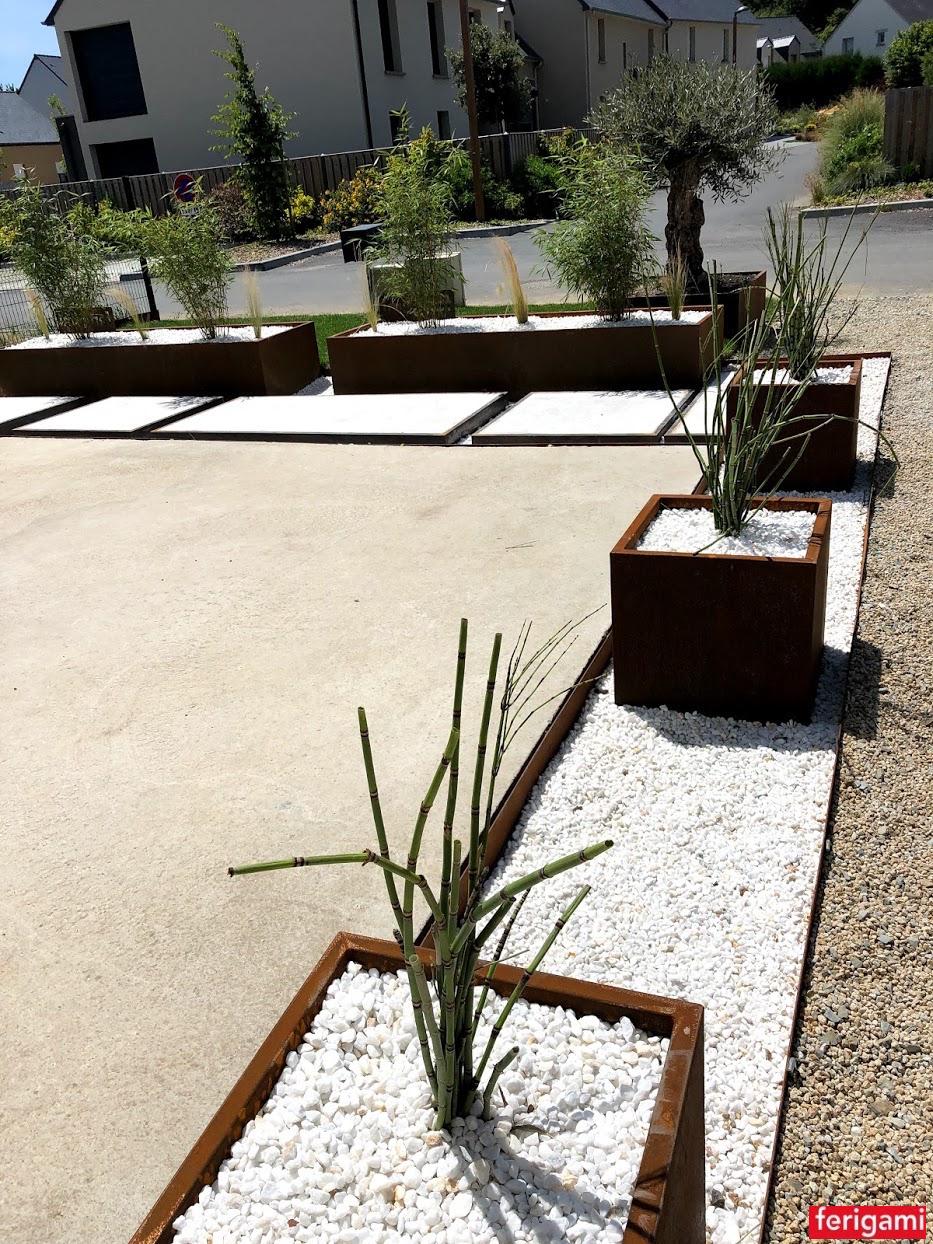 jardinieres corten ferigami