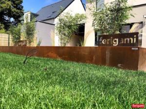 jardinieres corten