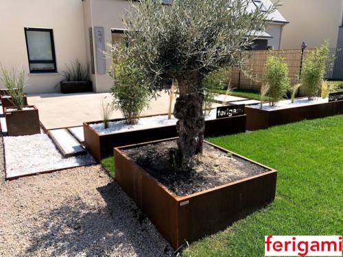 olivier bac corten ferigami