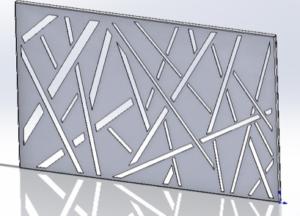 décorative steel panels