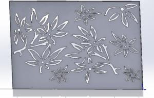 decorative steel