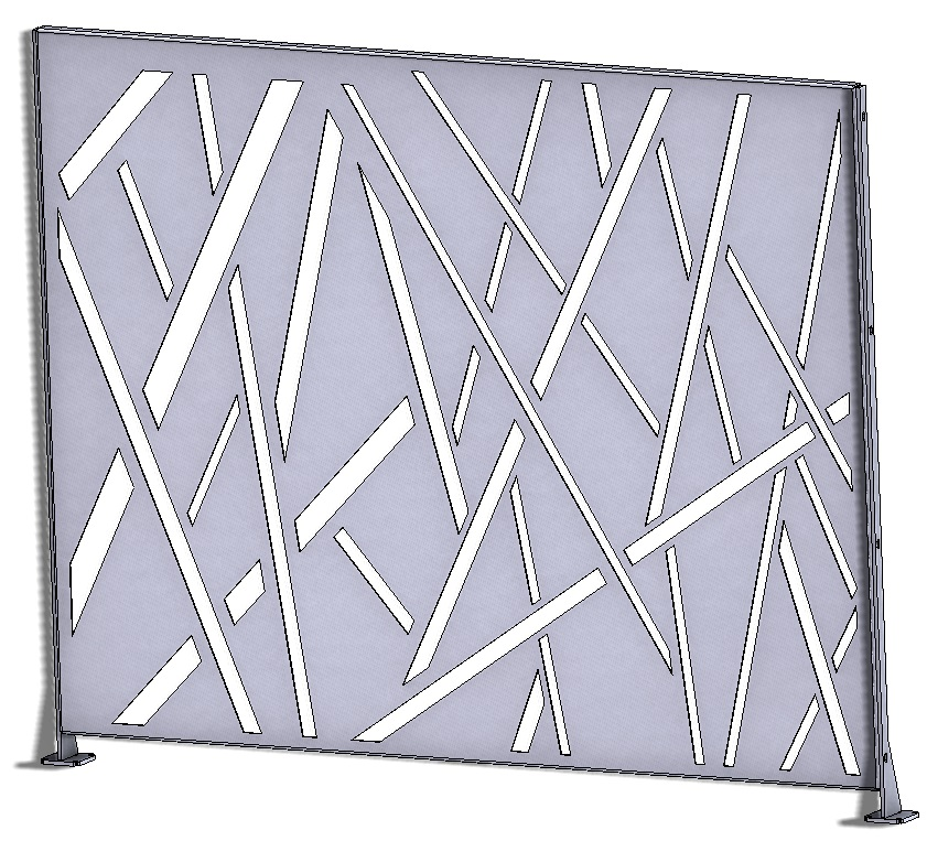 decorative steel panels