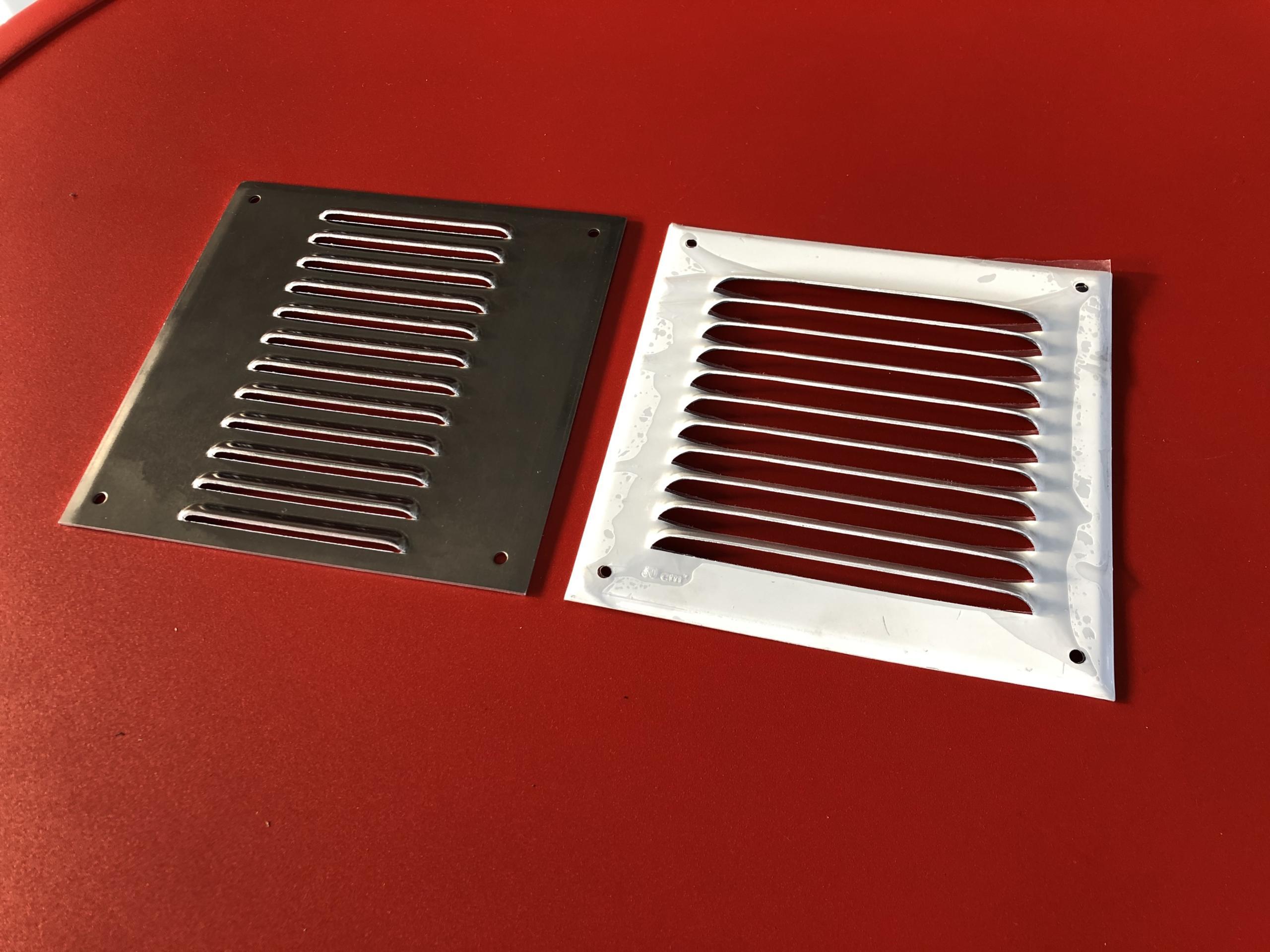 grilles de ventilation et aération